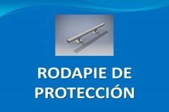 Rodapie de protección
