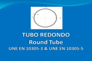 Tubería redonda