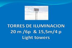 Torres de iluminación