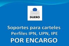 Postes en perfiles IPN, UPN, IPE por encargo