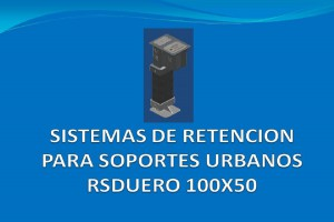 Sistema de retención RSDUERO 100x50