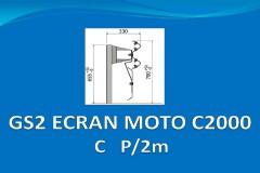 GS2 ECRAN MOTO C2000