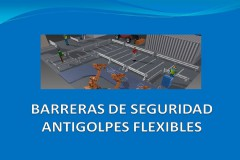 Barreras de seguridad antigolpes flexibles para industria