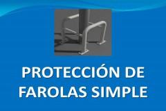 Protector de farolas simple Modelo 400x400