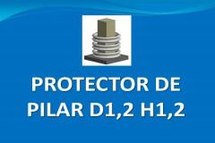 Protector de pilar D1,2 H1,2