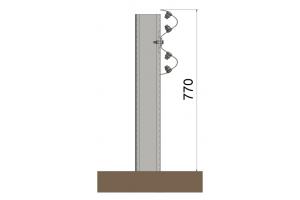 BL.ID-N2/C2 Barrera metálica simple