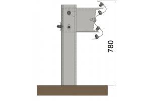 Duero H2/L1 Barrera metálica simple