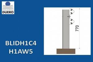 BLIDH1C4 Barrera metálica simple