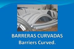Barreras curvas a medida