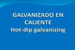 Galvanización en caliente por inmersión