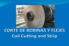 Coil cutting and strip