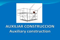 Andamios - Puntales. Auxiliares de construcción