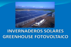 Greenhouse fotovoltaico