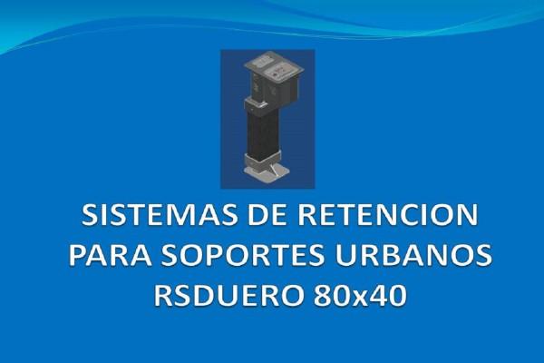 Sistema de retención RSDUERO 80X40