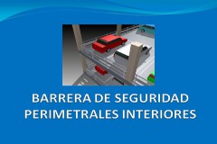 Barreras de seguridad perimetrales interiores para parking
