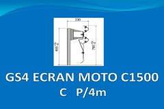 GS4 ECRAN MOTO C1500