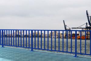 Barandilla DUERO S8 6 m con placa de anclaje